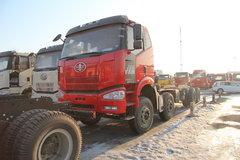 一汽解放 J6P准重卡 310马力 8X4自卸车底盘(CA3310P66K2L5BT4E4) 卡车图片