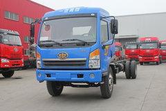 青岛解放 赛龙中卡 140马力 4X2 7.7米厢式载货车底盘(CA5148XXYPK2L4EA80-3) 卡车图片