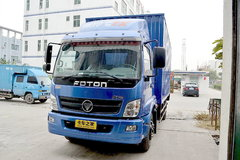 福田 奥铃CTX中卡 154马力 6.2米厢式载货车(BJ5169XXY-FC) 卡车图片