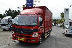 福田 欧马可1系 118马力 3.2米双排厢式轻卡(BJ5049XXY-DW) 卡车图片