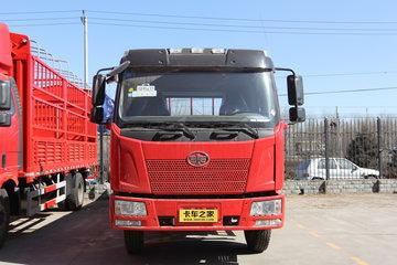 一汽解放 J6L中卡 220马力 6X2 9.6米栏板载货车