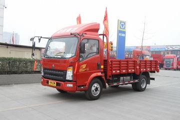中国重汽HOWO 统帅 重载版 154马力 4.165米单排栏板轻卡(ZZ1047F341CE145)