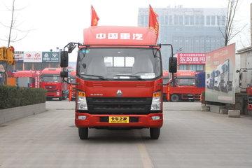 中国重汽HOWO 统帅 轻量化版 141马力 4.165米单排栏板轻卡(ZZ1047F331BE145)