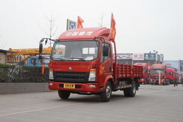 中国重汽HOWO 统帅 141马力 4.165米单排栏板轻卡(ZZ1047F341CE145)