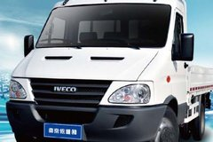 南京依维柯 欧霸K46 140马力 柴油 2.9米单排栏板轻卡(K46-28) 卡车图片