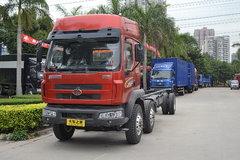 东风柳汽 乘龙M3中卡 220马力 6X2排半载货车底盘 卡车图片