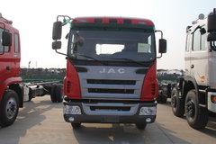 江淮 格尔发A3中卡 160马力 4X2 5.8米排半载货车(HFC5166CCYK1R1ZF)