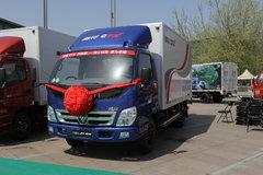 福田 奥铃CTX 科技版 118马力 4.2米单排厢式轻卡(BJ5049XXY-BF) 卡车图片