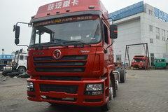 陕汽重卡 德龙F3000 336马力 8X4 9.5米栏板载货车底盘(SX1316NR466) 卡车图片