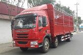 青岛解放 龙V中卡 220马力 6X2 7.7米仓栅式载货车(CA5250CCYPK2L5T3E5A80-1)