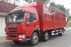 青岛解放 龙V中卡 180马力 6X2 7.7米排半仓栅载货车(CA5220CCYPK2L6T3E4A80-1) 卡车图片