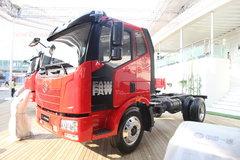 解放 J6L 180马力 4X2 压缩式垃圾车(底盘) 卡车图片