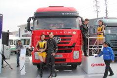 上汽红岩 杰狮M100重卡 336马力 6X2 LNG牵引车(CQ4256HTG303T) 卡车图片