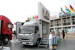 跃进 超越C300-33 140马力 3.8米单排厢式轻卡(广告宣传车)(GDY5041XZSNZ) 卡车图片