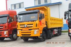 重汽王牌 W5G重卡 340马力 8X4 8.6米自卸车(CDW3317A1S4) 卡车图片