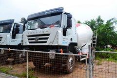 上汽红岩 杰狮M500 轻量化版 320马力 6X4 5.77方混凝土搅拌车(CQ5256GJBHMVG334)