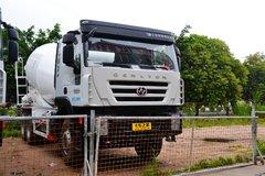 上汽红岩 杰狮M500 轻量化版 290马力 6X4 5.77方混凝土搅拌车(CQ5256GJBHMVG334)