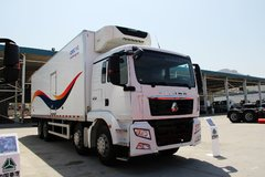 中国重汽 SITRAK 280马力 8X4 冷藏车(中集牌)(ZZ1316M466GD1)