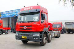 东风柳汽 乘龙M5重卡 310马力 8X4 9.6米仓栅载货车(LZ5311CCYQELA)