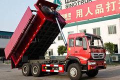 中国重汽 斯达斯太尔M5G中卡 6X4 加盖自卸车 卡车图片