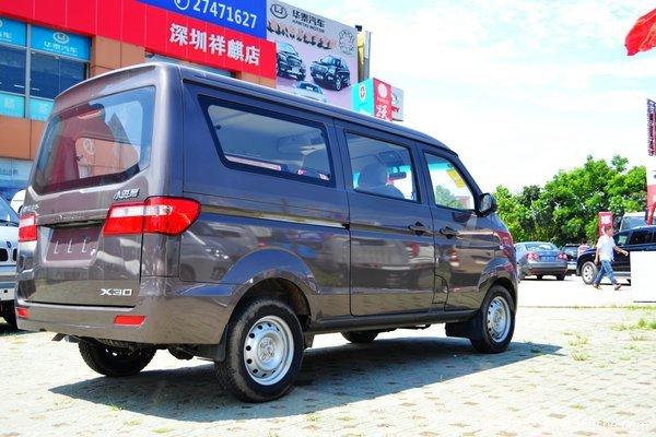 金杯 小海狮X30 2019款 标准型 102马力 1.5L 7座面包车