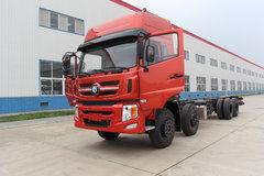 重汽王牌 W5G重卡 340马力 8X4 9.4米栏板载货车底盘(CDW1310A1T4) 卡车图片