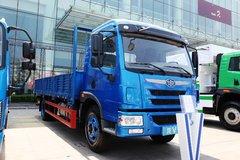 青岛解放 龙V中卡 164马力 4X2 6.8米排半栏板载货车(CA1168PK2L2E4A80)