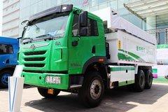 青岛解放 天V重卡 336马力 6X4 5.6米自卸车(CA3251P2K2L3T1E4A80-2) 卡车图片