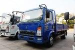 中国重汽HOWO 悍将 物流版 170马力 4.165米单排栏板轻卡(ZZ1047F341CE145)