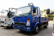 中国重汽HOWO 悍将 113马力 4.2米单排栏板轻卡(ZZ1047D3415D145)