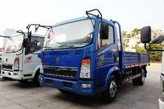 中国重汽HOWO 悍将 115马力 4.2米单排栏板轻卡(蓝牌十吨王)(ZZ1047D3415D145) 卡车图片