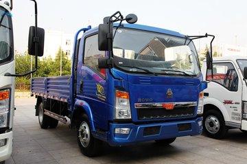 中国重汽HOWO 悍将 物流版 170马力 5.2米排半栏板轻卡(ZZ1107G421CE1)