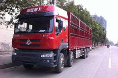 东风柳汽 霸龙重卡 290马力 8X4 9.6米排半载货车(LZ5244CSPEL) 卡车图片