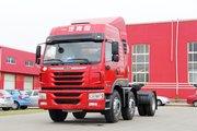 青岛解放 悍V重卡 336马力 6X2 LNG牵引车(CA4226P1K15T3NE5A80)