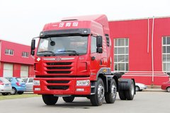 青岛解放 悍V重卡 336马力 6X2 LNG牵引车(CA4226P1K15T3NE5A80) 卡车图片