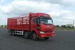解放 J6P重卡 280马力 8X4 仓栅载货车(轻量化)(CA5310CLXYP66K2L7T4A2E1) 卡车图片