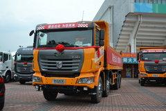 联合卡车U380 380马力 8X4 7.6米LNG自卸车(SQR3312N6T6)