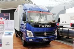 福田 奥铃CTX 143马力 3.7米排半厢式轻卡(BJ5049V8CEA-FE) 卡车图片
