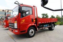 中国重汽HOWO 统帅 141马力 4.2米单排栏板轻卡(宽体)(ZZ1067F341BD165)