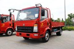 中国重汽HOWO 统帅 154马力 4.165米单排栏板轻卡(ZZ1047F341CE145)