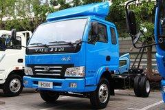 跃进 帅虎H300-33 102马力 3308轴距 4.24米单排轻卡底盘(NJ1042DBFT4) 卡车图片