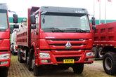 中国重汽 HOWO重卡 380马力 8X4 7.8米自卸车(ZZ3317N4267D1)
