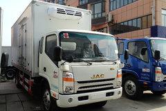 江淮帅铃 141马力 4X2 4.08米单排冷藏车