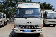江淮 骏铃E6 141马力 3.8米排半厢式轻卡(国五)(HFC5043XXYP91K1C2V)