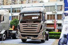 四川现代 创虎XCIENTP360重卡 360马力 4X2牵引车(CHM4180KPQ39M) 卡车图片