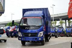 福田 奥铃TX 110马力 4.2米单排厢式轻卡(BJ5049XXY-AA) 卡车图片