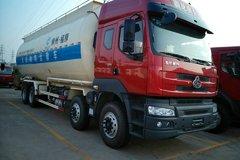 东风柳汽 乘龙 375马力 8X4 粉粒物料车(中航福狮牌)(底盘号LZ1310PELT)