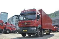东风柳汽 乘龙M5重卡 280马力 8X4 8.2米厢式载货车(LZ5311JSQQELA) 卡车图片