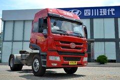 青岛解放 新悍威J5M准重卡 260马力 4X2牵引车(CA4163P1K2E4A80) 卡车图片