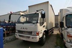 江淮 威铃II中卡 141马力 4X2 6.8米厢式载货车(HFC5130XXYP81K3E1) 卡车图片